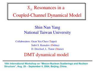 Shin Nan Yang National Taiwan University