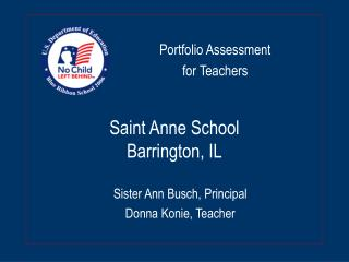 Saint Anne School Barrington, IL