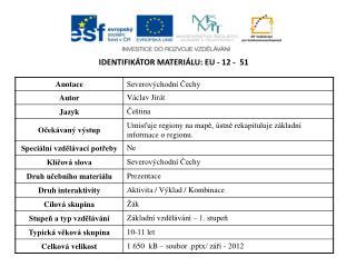 Identifikátor materiálu:  EU -  12  -   51