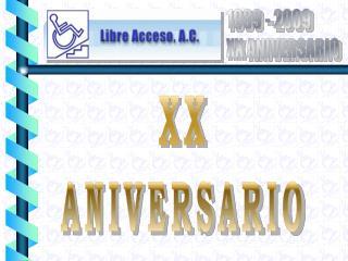 XX ANIVERSARIO