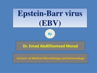 Epstein-Barr virus (EBV)