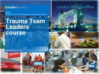 Trauma Team Leaders course