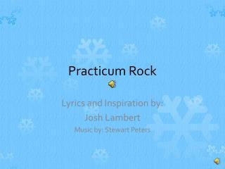 Practicum Rock