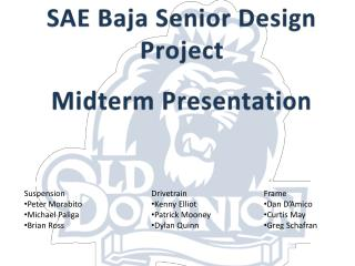 SAE Baja Senior Design Project