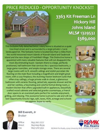 PRICE REDUCED  - OPPORTUNITY  KNOCKS!!!
