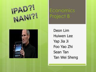Economics Project B