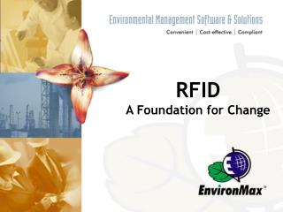 RFID  A Foundation for Change
