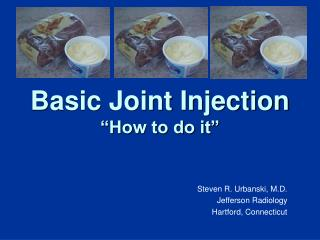 Basic Joint Injection  How to do it