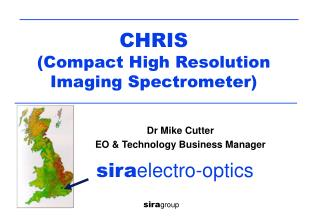 CHRIS  (Compact High Resolution Imaging Spectrometer)