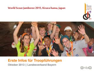 World Scout Jamboree 2015,  Kirara-hama , Japan