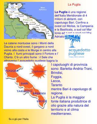 Su e giù per l'Italia