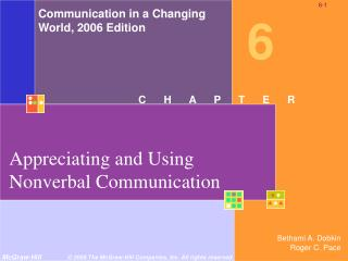 Appreciating and Using Nonverbal Communication