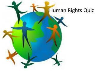 Human Rights Quiz