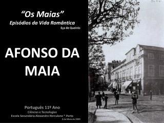 """""""Os Maias"""" Episódios da Vida Romântica Eça de Queirós"""
