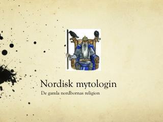 Nordisk mytologin