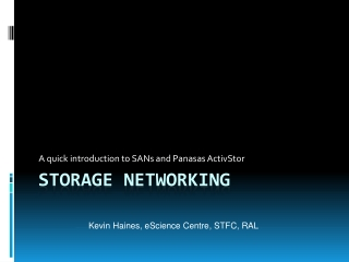 Storage Area Network SAN