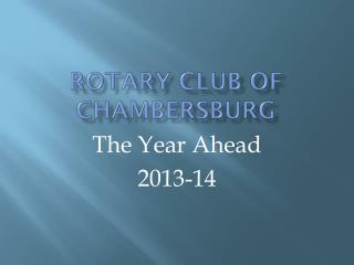 Rotary Club of Chambersburg