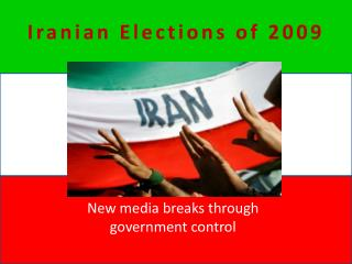 Iranian Elections of 2009