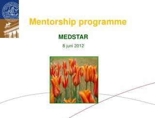Mentorship  programme