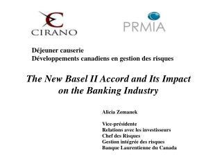 Déjeuner causerie Développements canadiens en gestion des risques