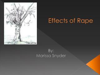 Effects of Rape
