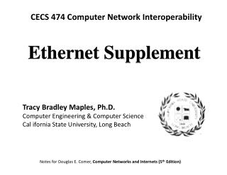 Ethernet Supplement
