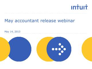 May accountant release webinar