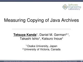 Measuring Copying of Java Archives