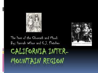California Inter- Mountain Region
