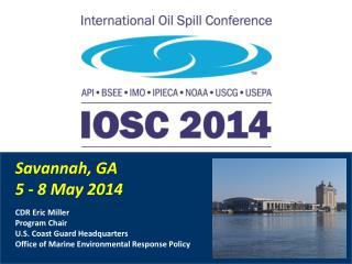 Savannah, GA 5 - 8 May 2014