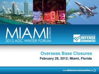 Overseas Base Closures