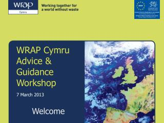 WRAP Cymru Advice & Guidance Workshop