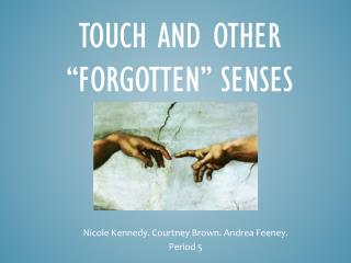"Touch and other ""Forgotten"" senses"