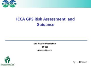 ICCA GPS Risk Assessment  and Guidance
