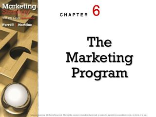 The Marketing Program