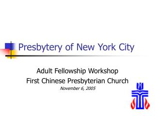 Presbytery of New York City