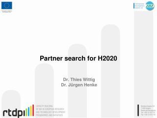 Dr. Thies Wittig Dr.  J�rgen Henke
