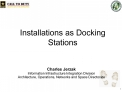 Installations as Docking Stations