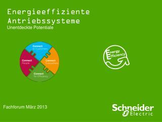 Energieeffiziente Antriebssysteme