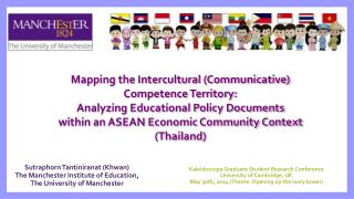 Mapping the Intercultural (Communicative) Competence Territory: