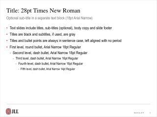 Title: 28pt Times New Roman