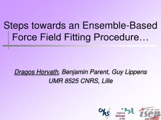 Steps towards an Ensemble-Based Force Field Fitting Procedure