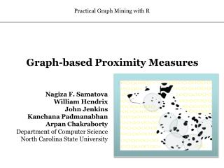 Graph-based  Proximity Measures