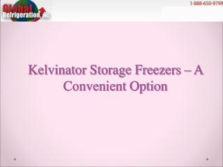 Kelvinator Storage Freezers – A Convenient Option