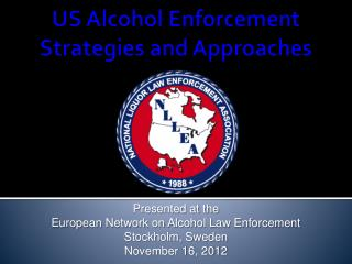 US Alcohol Enforcement  Strategies  and Approaches