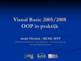 Visual Basic 2005/2008 OOP in praktijk