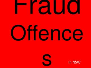 Fraud Offences