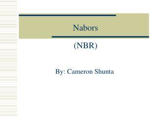 Nabors  NBR