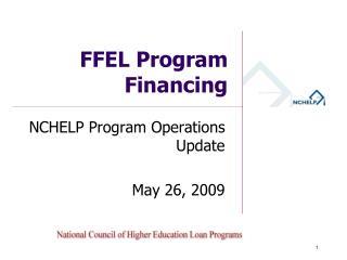 FFEL Program Financing