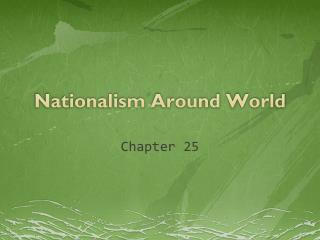 Nationalism Around World